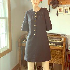 Shoshanna black dress sz 4